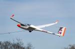 zibaさんが、木曽川滑空場で撮影した日本法人所有 ASW 28-18の航空フォト(写真)