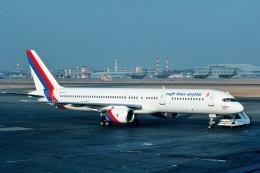 サンドバンクさんが、名古屋飛行場で撮影したロイヤル・ネパール航空 757-2F8の航空フォト(飛行機 写真・画像)