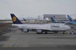 LEGACY-747さんが、関西国際空港で撮影したルフトハンザドイツ航空 747-430の航空フォト(写真)