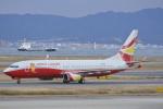 LEGACY-747さんが、関西国際空港で撮影した雲南祥鵬航空 737-808の航空フォト(飛行機 写真・画像)