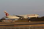 MA~RUさんが、成田国際空港で撮影したカタール航空 777-2DZ/LRの航空フォト(写真)