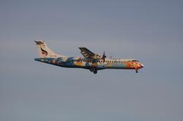 しかばねさんが、スワンナプーム国際空港で撮影したバンコクエアウェイズ ATR-72-500 (ATR-72-212A)の航空フォト(飛行機 写真・画像)