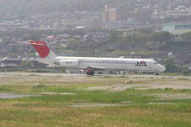 はるさんが、小倉空港で撮影した日本エアシステム MD-87 (DC-9-87)の航空フォト(飛行機 写真・画像)