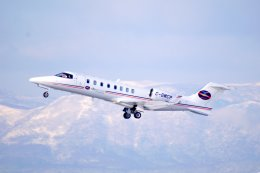 kitayocchiさんが、新千歳空港で撮影したスカイサービス・ビジネス・アビエーション 45の航空フォト(飛行機 写真・画像)