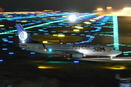 shining star ✈さんが、関西国際空港で撮影した山東航空 A320-232の航空フォト(飛行機 写真・画像)