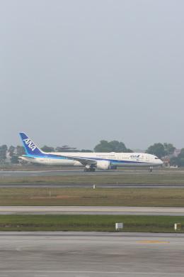 安芸あすかさんが、ノイバイ国際空港で撮影した全日空 787-9の航空フォト(飛行機 写真・画像)