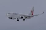 NOTE00さんが、青森空港で撮影した奥凱航空 737-8KFの航空フォト(飛行機 写真・画像)