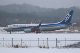 ズイズイさんが、能登空港で撮影した全日空 737-881の航空フォト(飛行機 写真・画像)