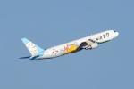 tsubasa0624さんが、羽田空港で撮影したAIR DO 767-381の航空フォト(飛行機 写真・画像)