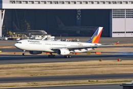 tsubasa0624さんが、羽田空港で撮影したフィリピン航空 A330-343Xの航空フォト(飛行機 写真・画像)