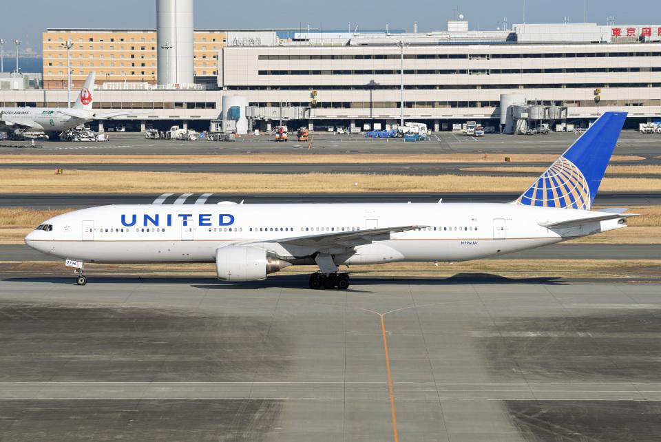tsubasa0624さんのユナイテッド航空 Boeing 777-200 (N796UA) 航空フォト