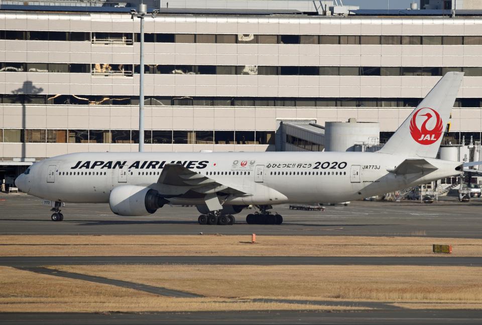 tsubasa0624さんの日本航空 Boeing 777-200 (JA773J) 航空フォト
