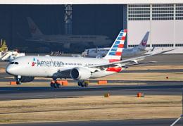 tsubasa0624さんが、羽田空港で撮影したアメリカン航空 787-8 Dreamlinerの航空フォト(写真)