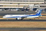 tsubasa0624さんが、羽田空港で撮影した全日空 A321-211の航空フォト(飛行機 写真・画像)
