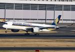 tsubasa0624さんが、羽田空港で撮影したシンガポール航空 A350-941の航空フォト(飛行機 写真・画像)