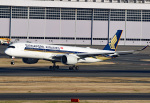 tsubasa0624さんが、羽田空港で撮影したシンガポール航空 A350-941XWBの航空フォト(飛行機 写真・画像)