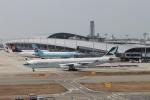 職業旅人さんが、関西国際空港で撮影したキャセイパシフィック航空 A340-313Xの航空フォト(写真)