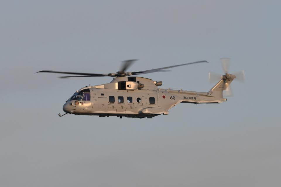 夏みかんさんの海上自衛隊 Kawasaki MCH-101/CH-101 (8660) 航空フォト