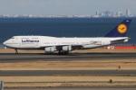 たみぃさんが、羽田空港で撮影したルフトハンザドイツ航空 747-430の航空フォト(写真)