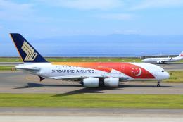 中部国際空港 - Chubu Centrair International Airport [NGO/RJGG]で撮影されたシンガポール航空 - Singapore Airlines [SQ/SIA]の航空機写真
