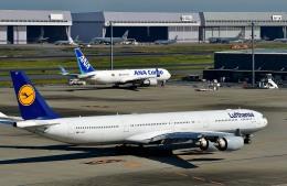 Dojalanaさんが、羽田空港で撮影したルフトハンザドイツ航空 A340-642Xの航空フォト(写真)