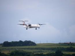furaibo123さんが、石垣空港で撮影した琉球エアーコミューター DHC-8-402Q Dash 8 Combiの航空フォト(飛行機 写真・画像)