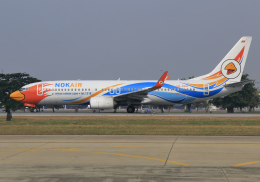 RA-86141さんが、ドンムアン空港で撮影したノックエア 737-88Lの航空フォト(飛行機 写真・画像)