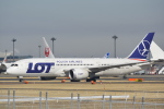 LEGACY-747さんが、成田国際空港で撮影したLOTポーランド航空 787-8 Dreamlinerの航空フォト(飛行機 写真・画像)