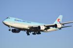 LEGACY-747さんが、成田国際空港で撮影した大韓航空 747-8B5F/SCDの航空フォト(写真)