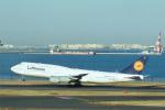 パンダさんが、羽田空港で撮影したルフトハンザドイツ航空 747-830の航空フォト(飛行機 写真・画像)