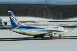 delawakaさんが、新千歳空港で撮影したANAウイングス 737-5L9の航空フォト(飛行機 写真・画像)