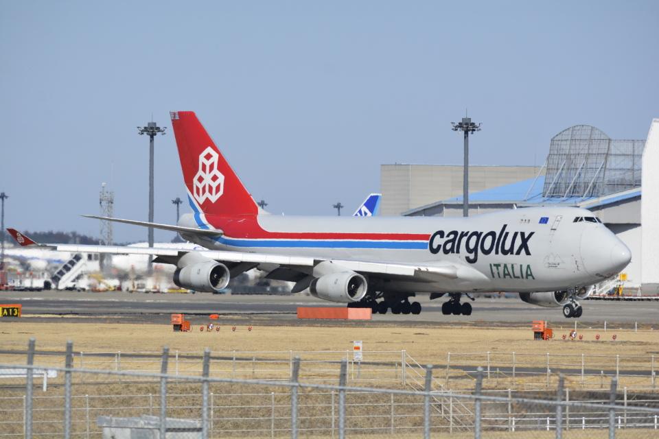 LEGACY-747さんのカーゴルクス・イタリア Boeing 747-400 (LX-OCV) 航空フォト
