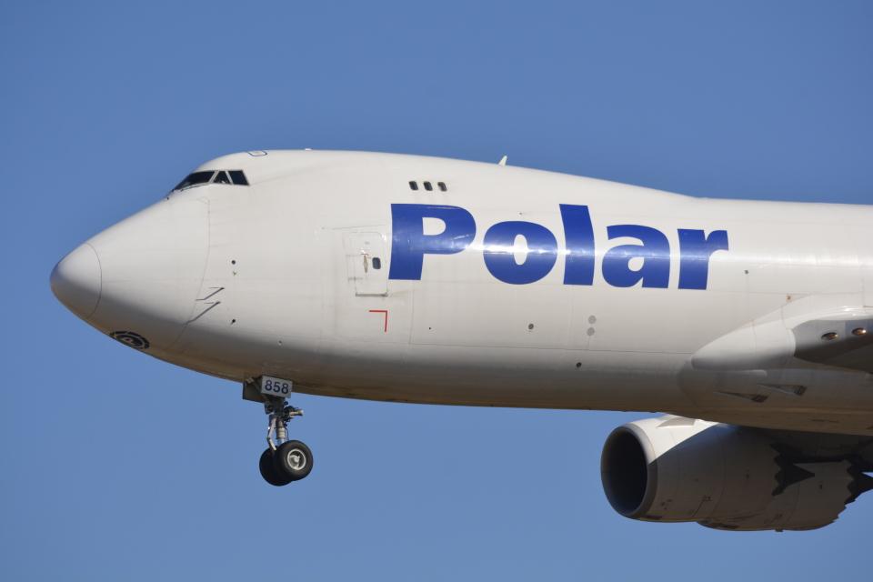 LEGACY-747さんのポーラーエアカーゴ Boeing 747-8 (N858GT) 航空フォト