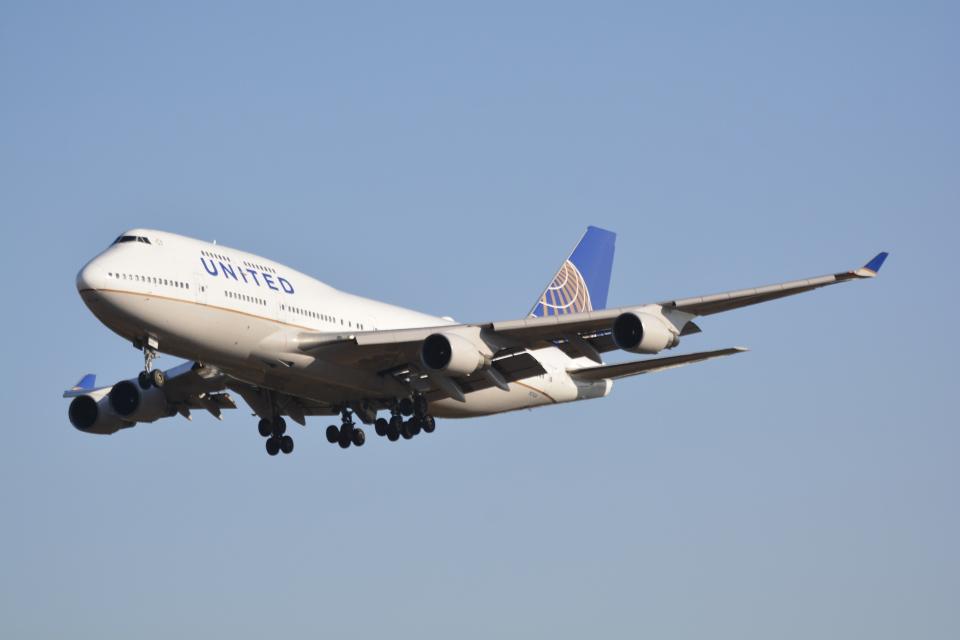 LEGACY-747さんのユナイテッド航空 Boeing 747-400 (N174UA) 航空フォト