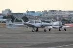 ハピネスさんが、八尾空港で撮影した日本個人所有 DA42 TwinStarの航空フォト(写真)