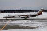 北の熊さんが、新千歳空港で撮影した東方公務航空 EMB-135BJ Legacyの航空フォト(写真)