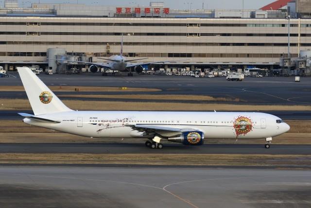 航空フォト:ZS-NEX アエロネクサス・コーポレーション 767-300