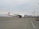 コバトンさんが、羽田空港で撮影した日本航空 777-346/ERの航空フォト(飛行機 写真・画像)