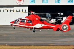 left eyeさんが、高松空港で撮影した名古屋市消防航空隊 AS365N3 Dauphin 2の航空フォト(飛行機 写真・画像)