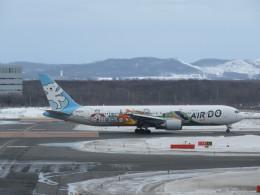 sky737さんが、新千歳空港で撮影したAIR DO 767-381の航空フォト(飛行機 写真・画像)