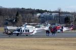 あきらっすさんが、調布飛行場で撮影した札幌市消防局消防航空隊 AW139の航空フォト(写真)