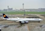Cygnus00さんが、羽田空港で撮影したルフトハンザドイツ航空 A340-642の航空フォト(写真)
