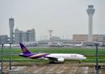 Cygnus00さんが、羽田空港で撮影したタイ国際航空 777-2D7/ERの航空フォト(写真)