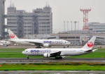 Cygnus00さんが、羽田空港で撮影した日本航空 767-346の航空フォト(写真)