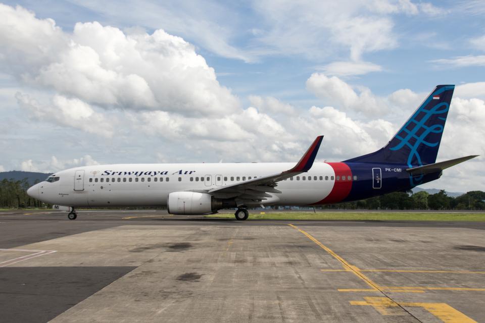 xingyeさんのスリウィジャヤ航空 Boeing 737-800 (PK-CMI) 航空フォト