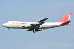 RUSSIANSKIさんが、シンガポール・チャンギ国際空港で撮影したユニ・トップエアラインズ 747-2J6F/SCDの航空フォト(写真)
