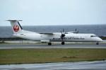 kumagorouさんが、久米島空港で撮影した琉球エアーコミューター DHC-8-402Q Dash 8 Combiの航空フォト(写真)