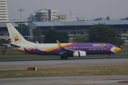 AkilaYさんが、ドンムアン空港で撮影したノックエア 737-8ASの航空フォト(飛行機 写真・画像)