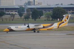 AkilaYさんが、ドンムアン空港で撮影したノックエア DHC-8-402Q Dash 8の航空フォト(飛行機 写真・画像)