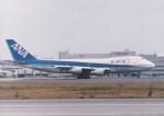 NH642さんが、福岡空港で撮影した全日空 747SR-81の航空フォト(写真)